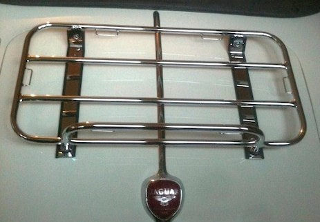 Jaguar Classic Boot Luggage Rack