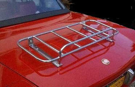 Fiat 124 Car Boot Luggage Rack