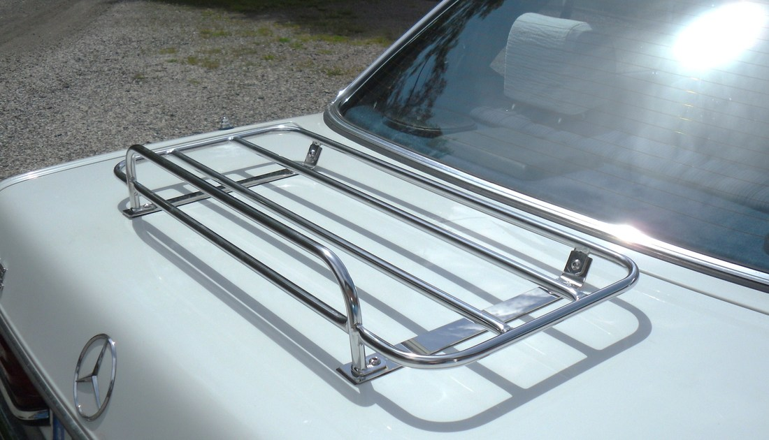Mercedes Boot Luggage Rack